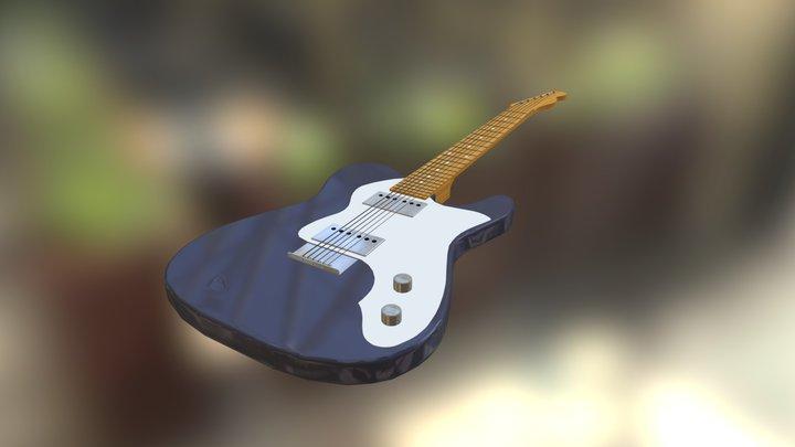 Fender Classic Telecaster (frayed) 3D Model