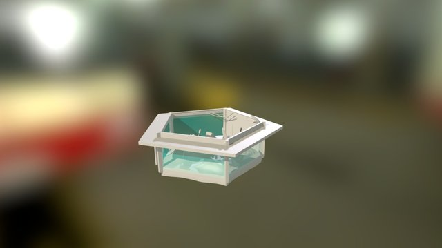 Terrarium Haybox 3D Model