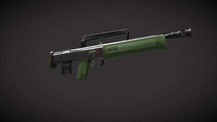 Gun per day 3D Model