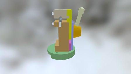 Canon De Perçage 3D Model