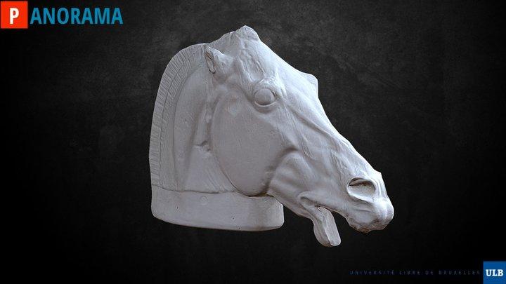 Tête de Cheval 3D Model