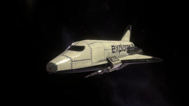 Spaceshuttle Explorer 1° 3D Model