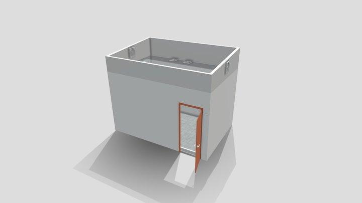 Ruang Maining Baru 3D Model