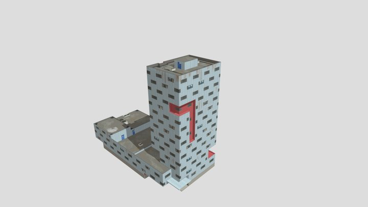 Veemkade 1308 3D Model