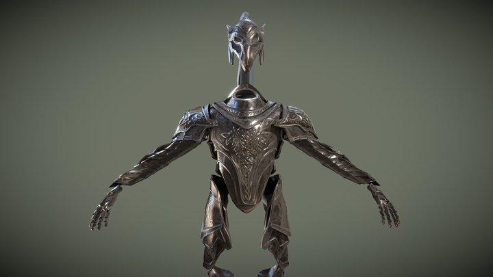 Artorias Armor 3D Model