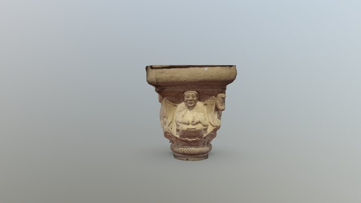 Capitello istoriato modena 3D Model