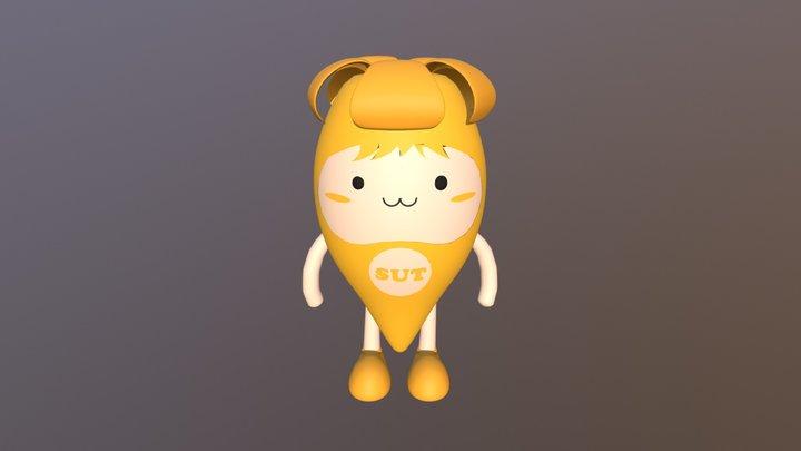 น้องปีบทอง 3D Model