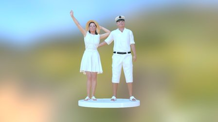 Marina 3D Model