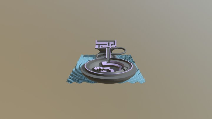 Marble Madness 3D Model