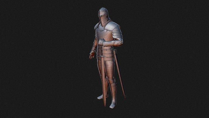 Knight - 3D Model 3D Model