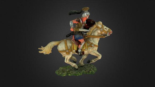 Elastolin roman horseman 3D Model
