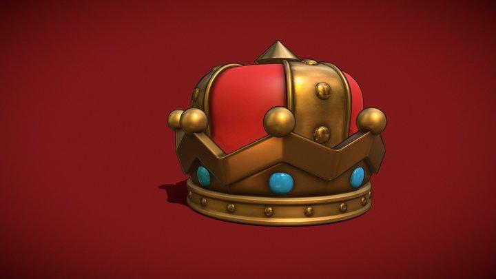 Royal Crown From Mario Oddysey | Fan Art 3D Model