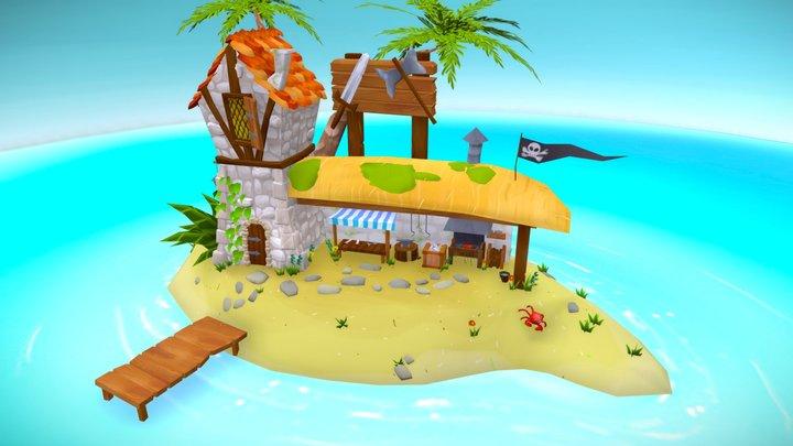 Seafarers Paradise 3D Model