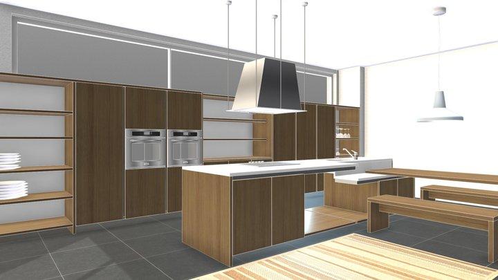 Cucina1 3D Model