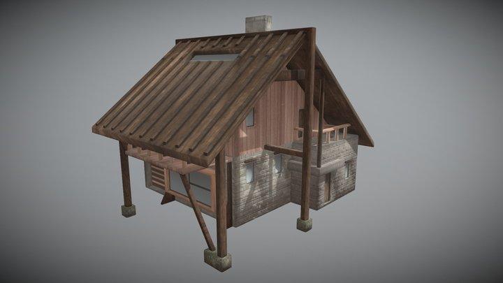 Сhalet 3D Model