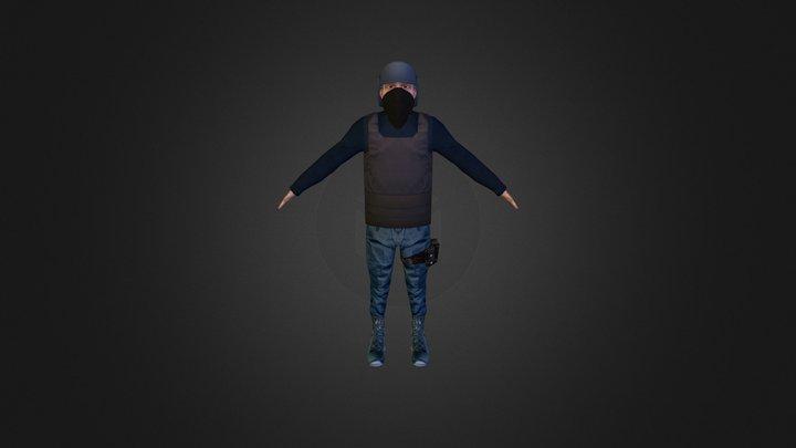 Soldier (2013) 3D Model