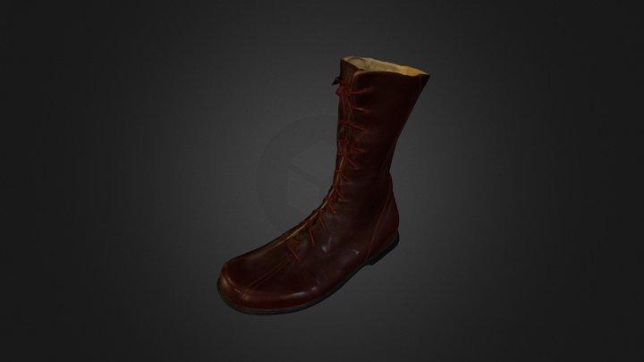 3D Scan Left Boot 3D Model