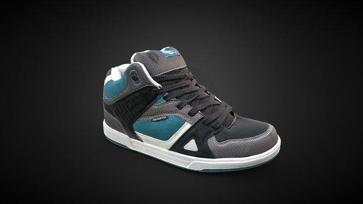 Authority Shoe Sneakers 3D Scan 3D Model