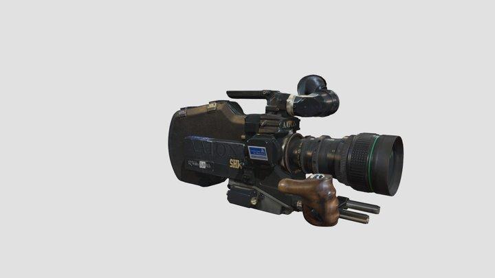 Caméra 16 mm Aaton XTR Plus 3D Model
