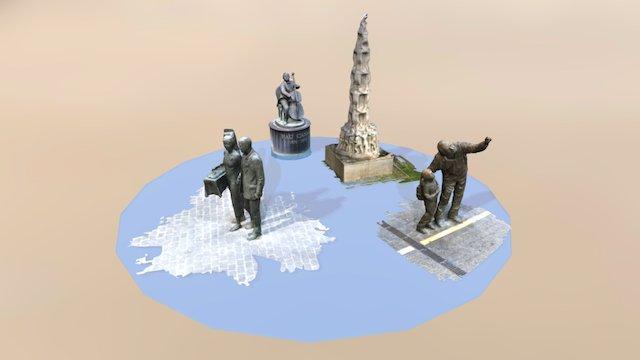 Conjunt Monuments 4 3D Model