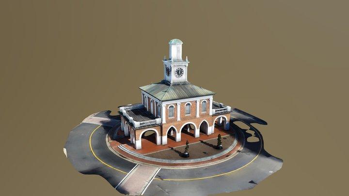 Market House - Downtown Fayetteville, NC 3D Model