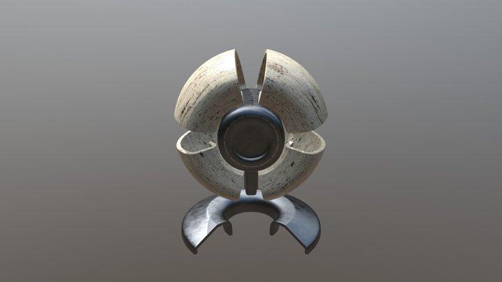 UX3D Material Probe 3D Model