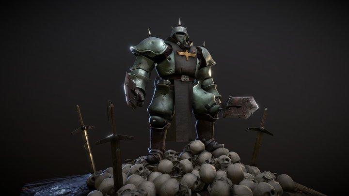 Berserker 3D Model