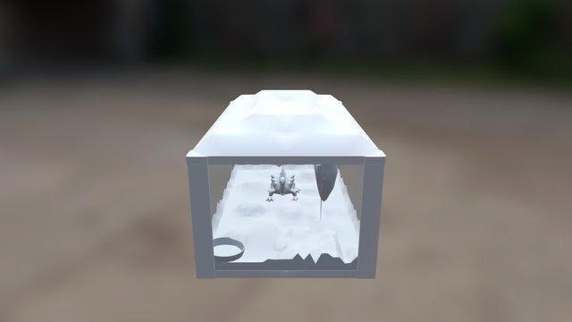 Alien Petshop Greybox 3D Model