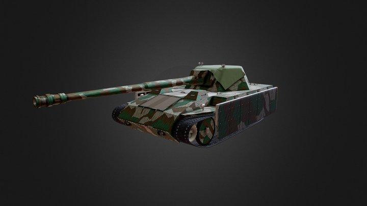 Krupp-Steyr Waffenträger 3D Model