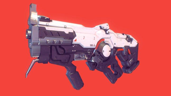 DOOM Plasma Rifle 3D Model