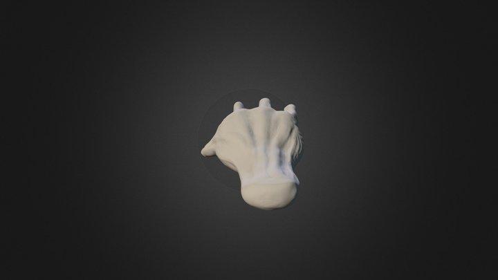 怪物手 3D Model