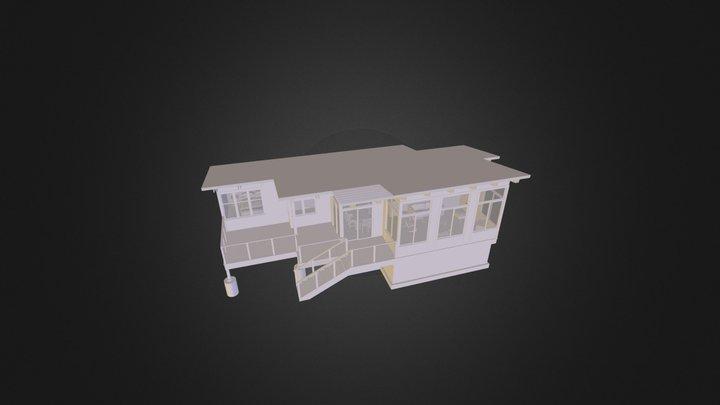 rockwell cabin 3D Model