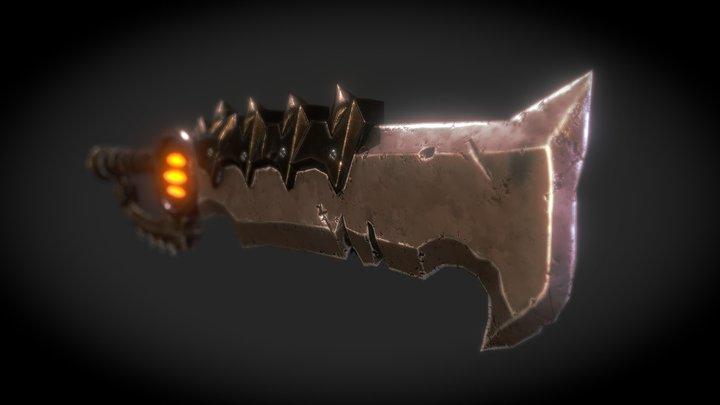 Stylized-Sword 3D Model