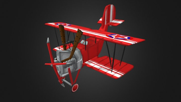 Flying Circus - Harry Tate 3D Model