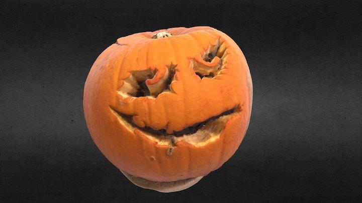 Pumpkin Carving - Photoscan 3D Model