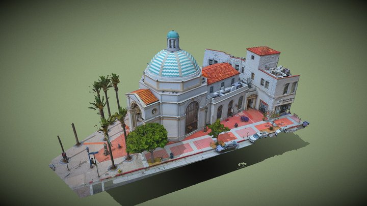 Janss Investment Company Building aka Janss Dome 3D Model