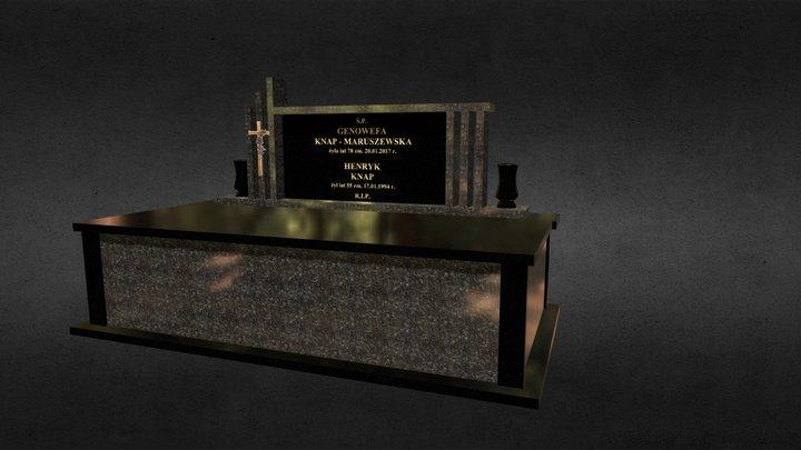 Grobowiec Knap 2 3D Model