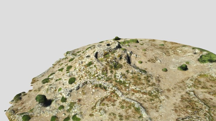 Nuraghe Bau 'e Tanca - Talana 3D Model