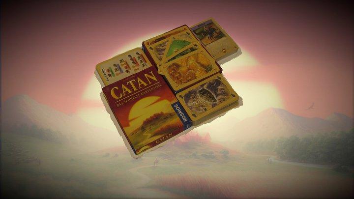 Catan Card Game - by Eleni Balaska 3D Model