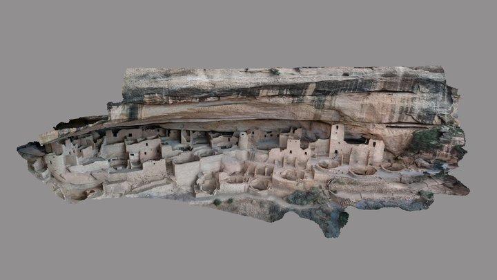 Mesa Verde, Colorado, USA 3D Model