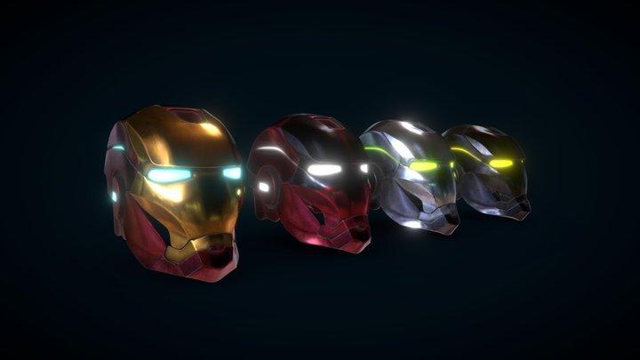 Iron Man Helmet prototypes 3D Model