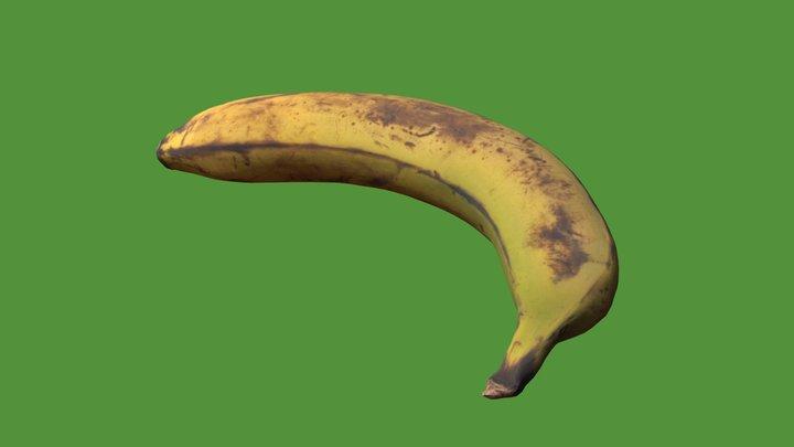Banana 2 3D Model