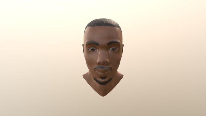 Michael B Jordan 3D Model