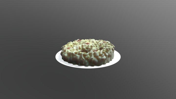 Cake Icecream rewe 3D Model