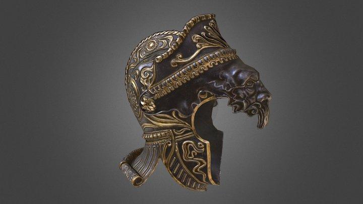 Warrior Helmet 3D Model