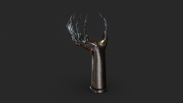 Hand Claw 3D Model
