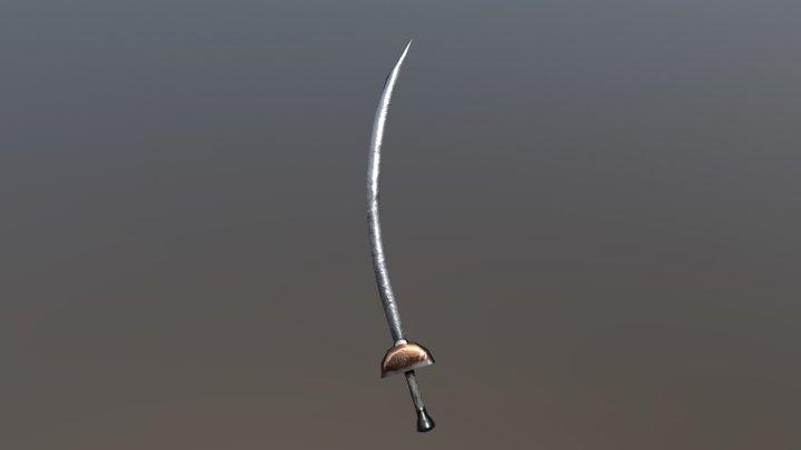 AAA Swords Pack - Scimitar 3D Model