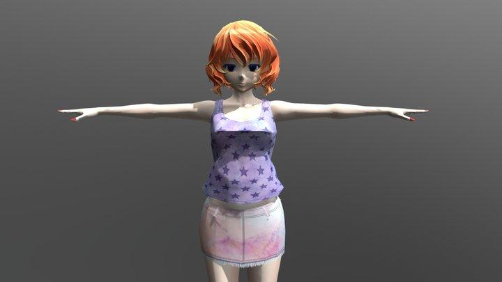 Kline Club - FBX Rigged Character 3D Model
