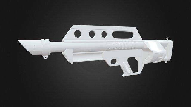 機關槍 Machine gun 3D Model
