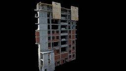 Yunost_Bldng1_East 3D Model